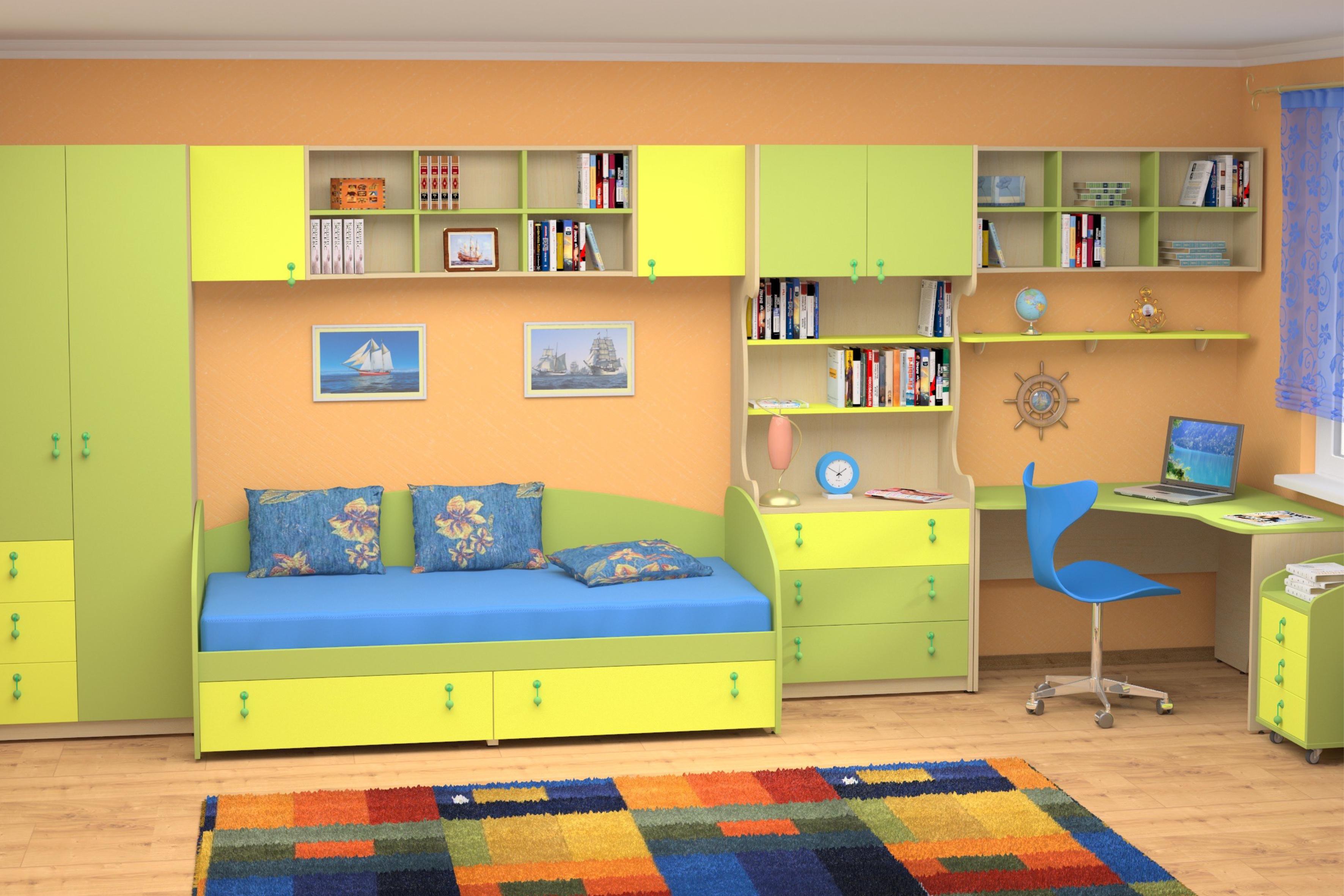 Заказать детскую мебель детской комнаты.