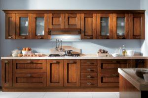 кухни из фото из массива