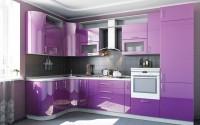 Кухни краска сиреневый