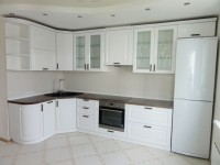 Кухня краска классика белый