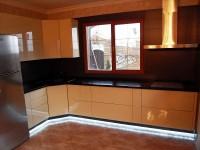 Кухня краска скрытая фурнитура