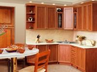 Кухня рамочная под орех