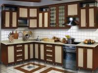 Кухня рамочный фасад двухцветная