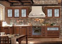 Кухня рамочный фасад орех