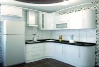 Кухня фасады пластик белый