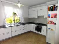 Кухня фасады пластик белый совмещенный