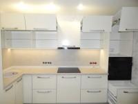 Кухня ALVIK LUXE белая.