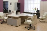 Мебель для офиса в белом