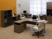 Мебель для офиса орех